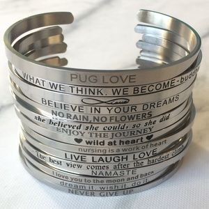 Jewelry - 3 for $25 SALE Inspiration Bangles